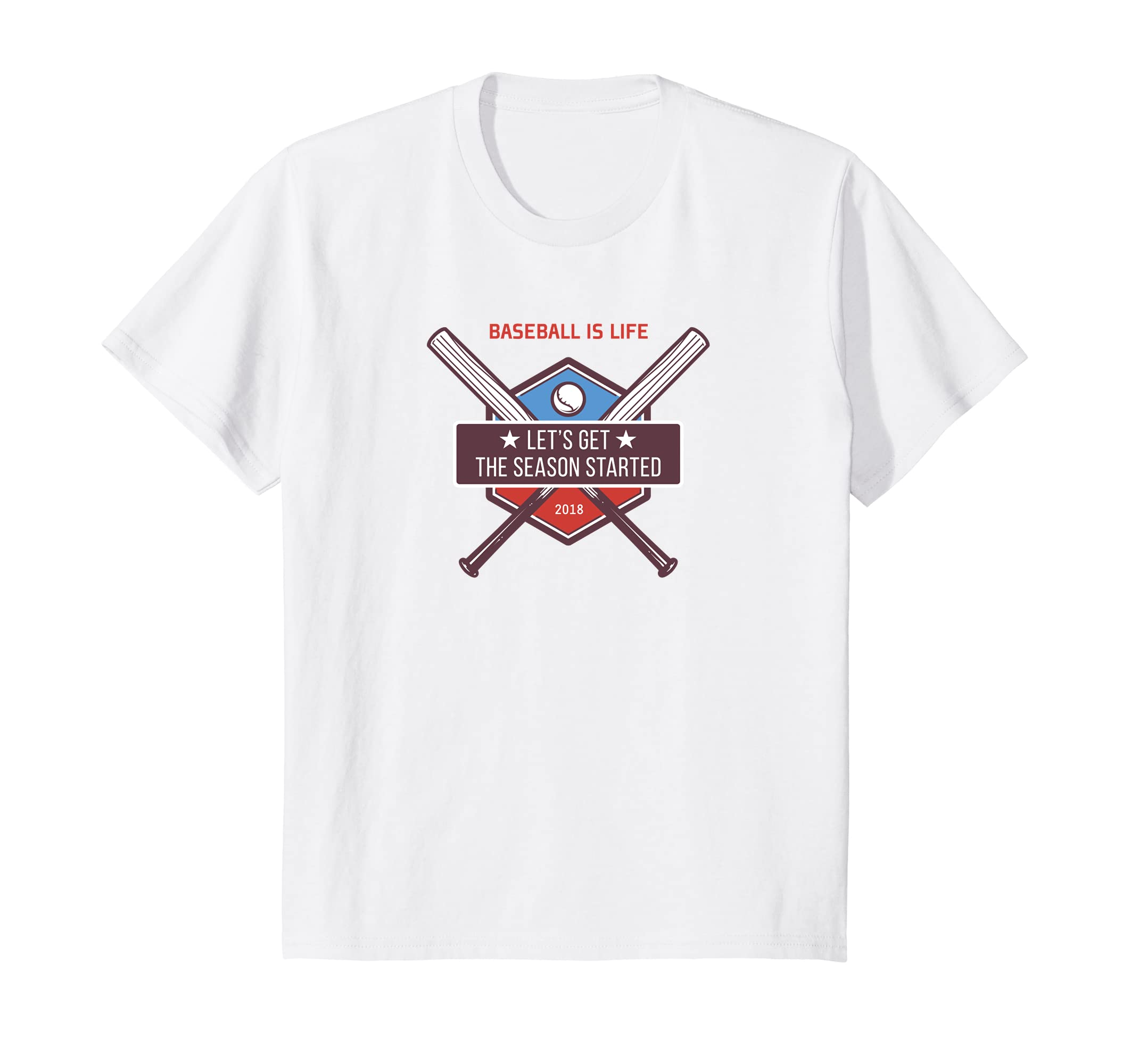 544e75f02 Amazon.com: Baseball 2018 T-shirt Spring Training Tee Ambassadors: Clothing