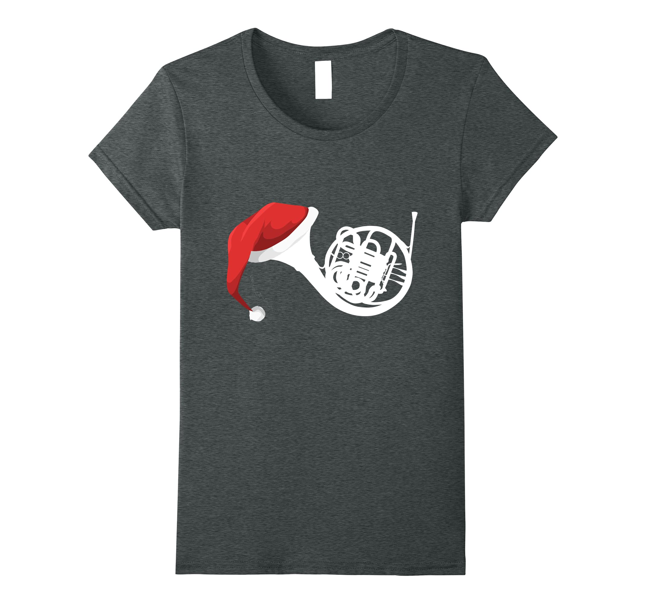 Christmas French Horn Shirt T Shirt-Tovacu