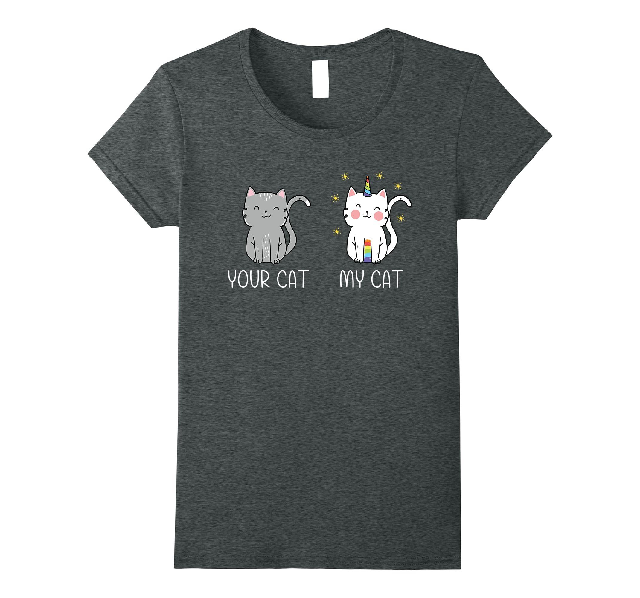 Unicorn T Shirt Magic Caticorn Shirt-Xalozy