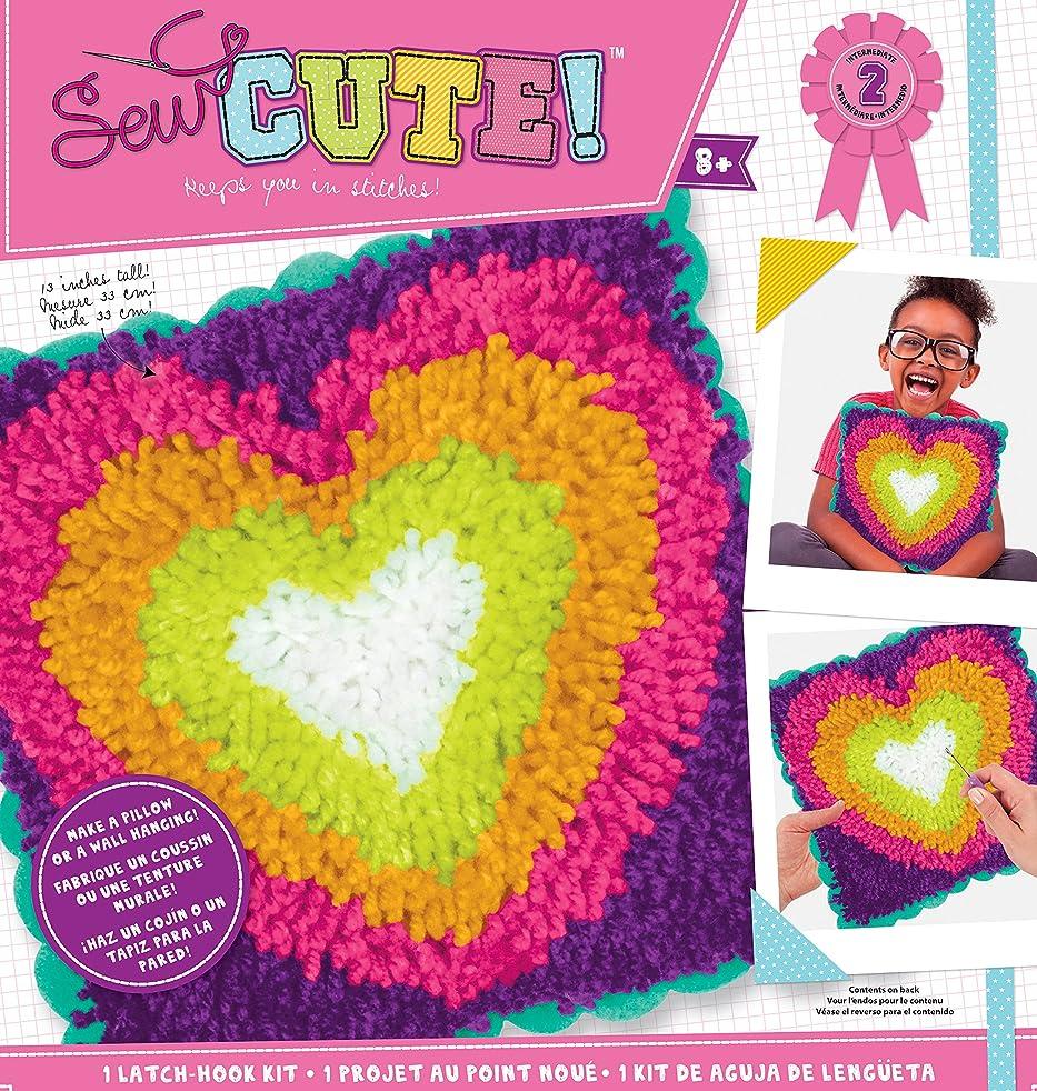 ColorBok 73969 SC Latch Hook Kit Heart