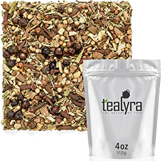 Tealyra - Blood Cleanser Tea - Wellness Detox - Health Tonic - Dandelion - Ginger - Loose Leaf Herbal Tea - Natural Cleanse - Diuretic Tea - Caffeine-Free - 112g (4-ounce)