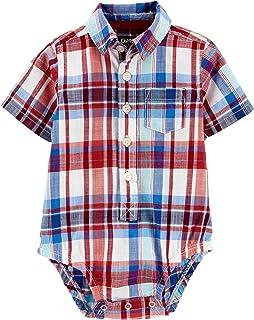 Baby Boys' Woven Bodysuit 11383710