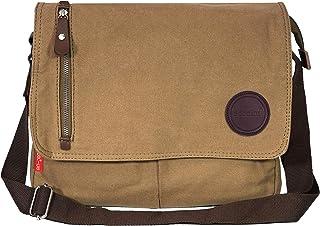 Storite Vintage Canvas Sling Cross Body Travel Office Business Satchel Messenger one Side Shoulder Bag for Men & Women-(33...