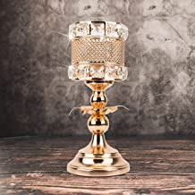 Luxury Gold Candle Holder Elegant Tealight Holders Wedding Centerpieces Candlestick Holders Candelabra Dining Room Coffee ...