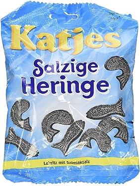 """Katjes Salzige Heringe """"Salty Hering / Fish"""" 7.05oz"""