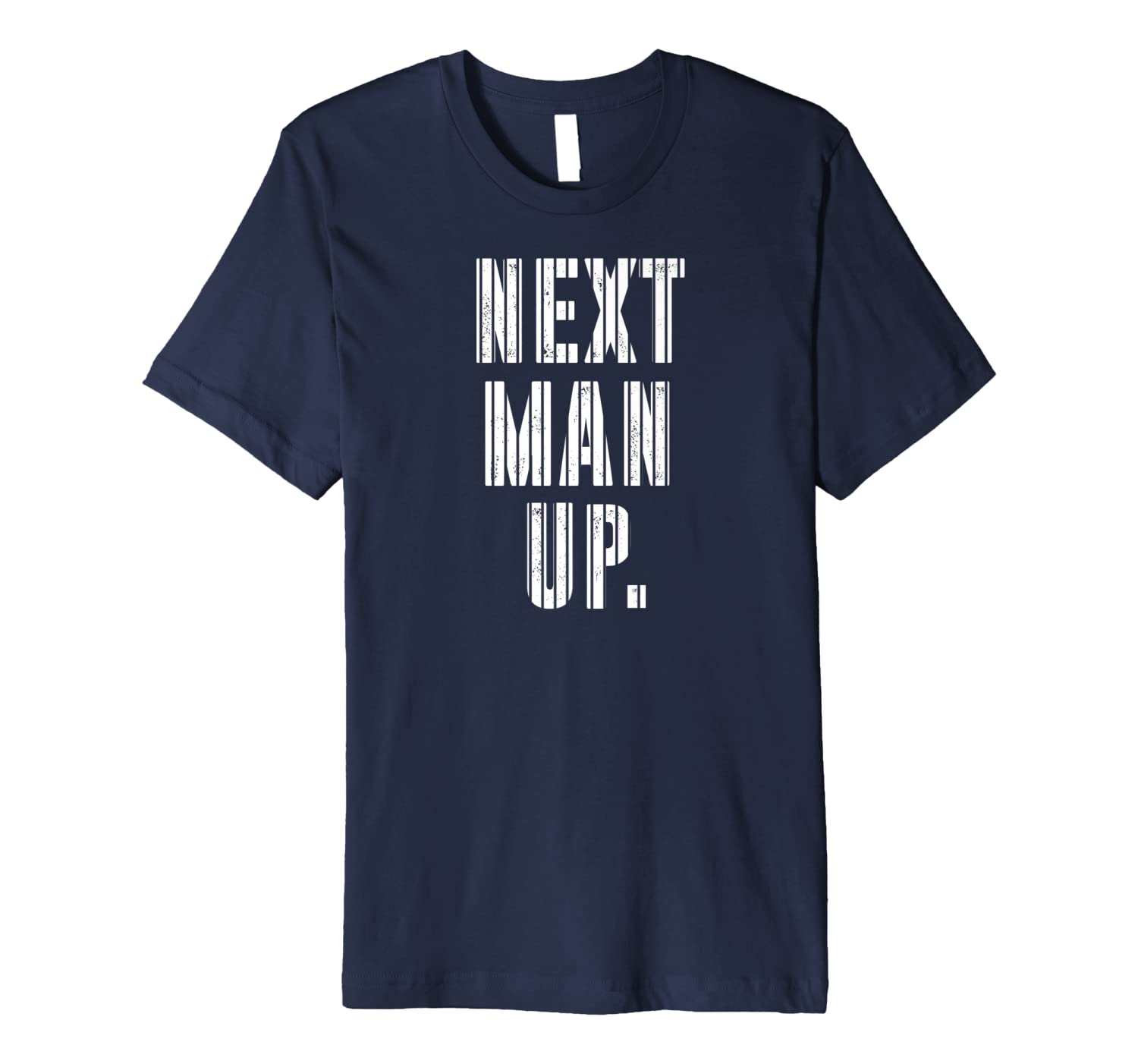 Retro New York Distressed Championship Baseball Next Man Up Premium T-Shirt-TH