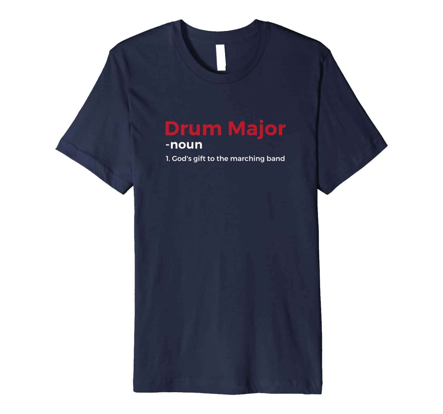 Funny Drum Major Definition Tee Shirt-ANZ