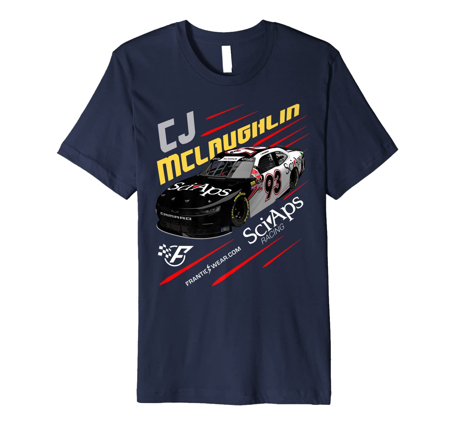 Frantic Wear CJ Racing Premium T-Shirt Unisex Tshirt