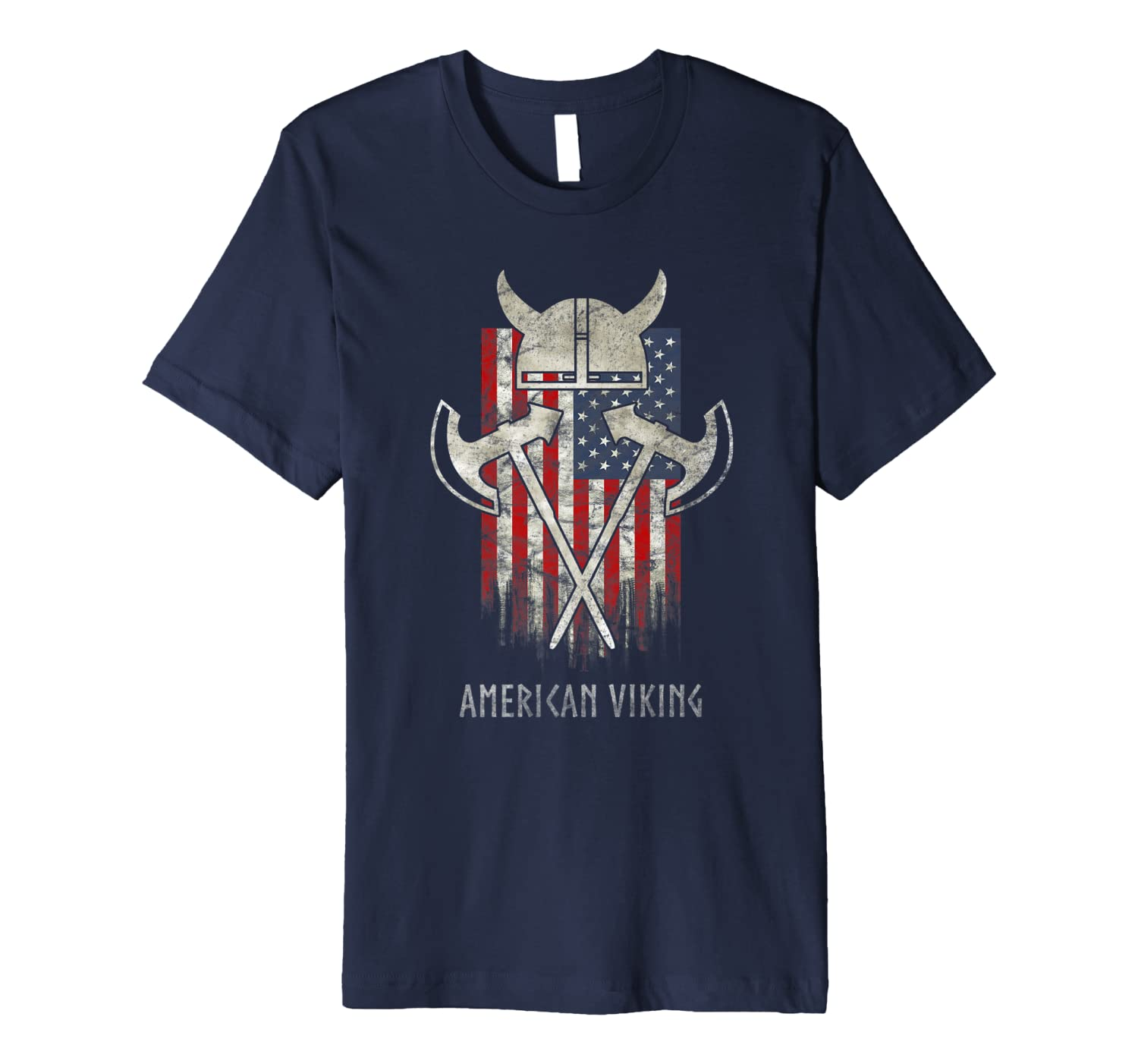 American Viking Norse Nordic Celtic Roots Art T-Shirt-TH