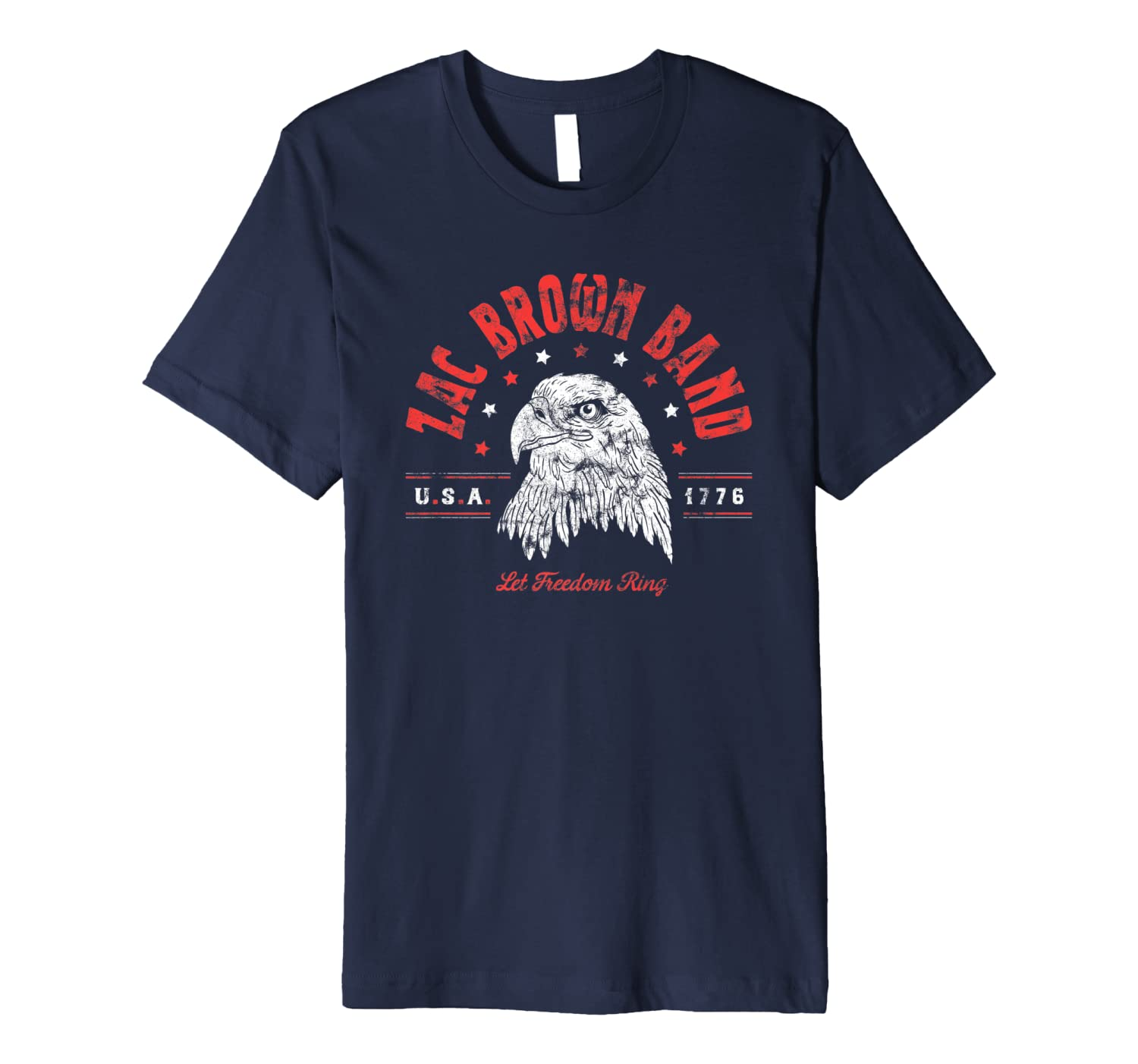 Zac Brown Band - Veterans Day Eagle T-shirt
