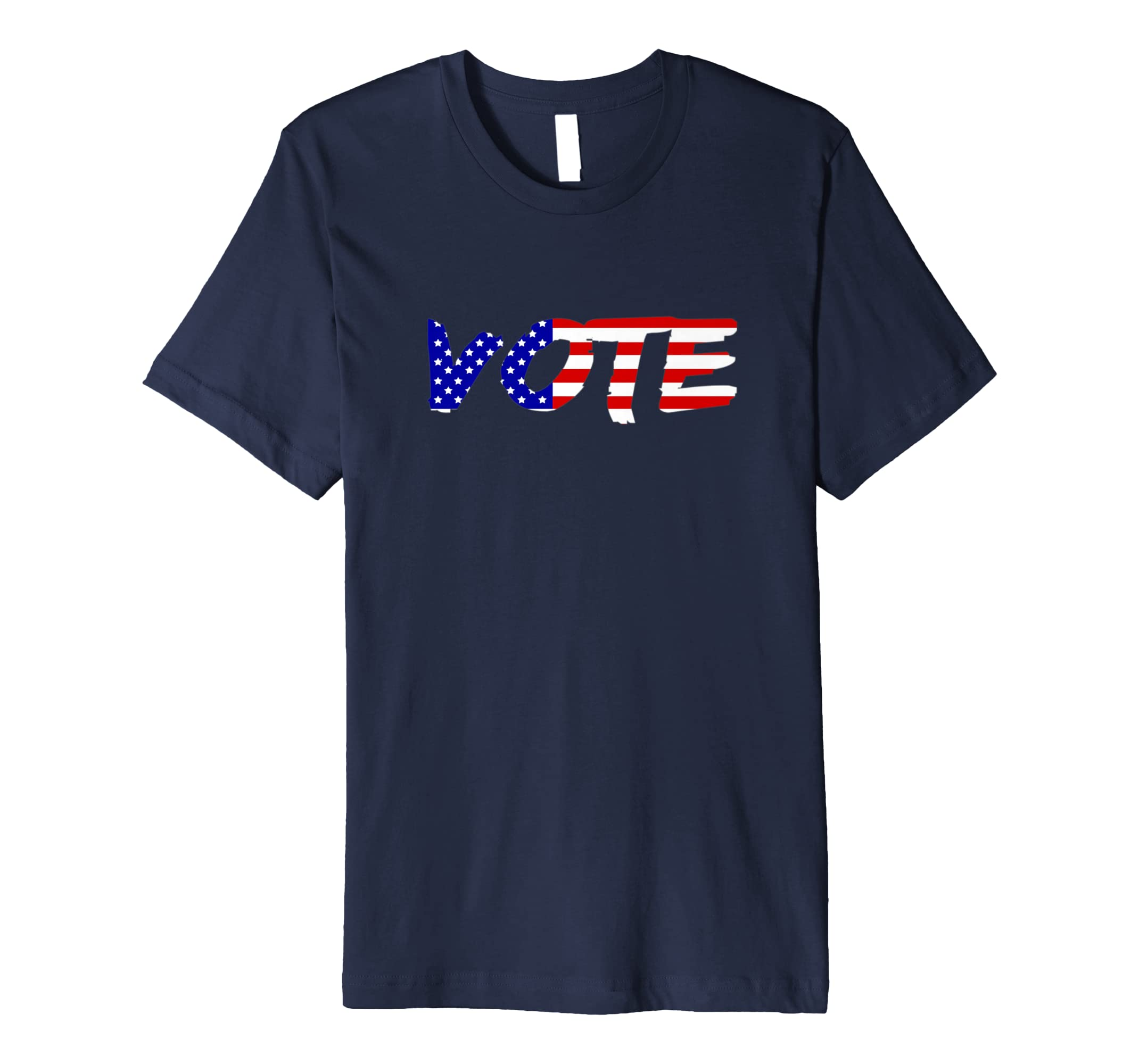 Vote Job Opportunities for All Americans America Flag Tshirt-azvn