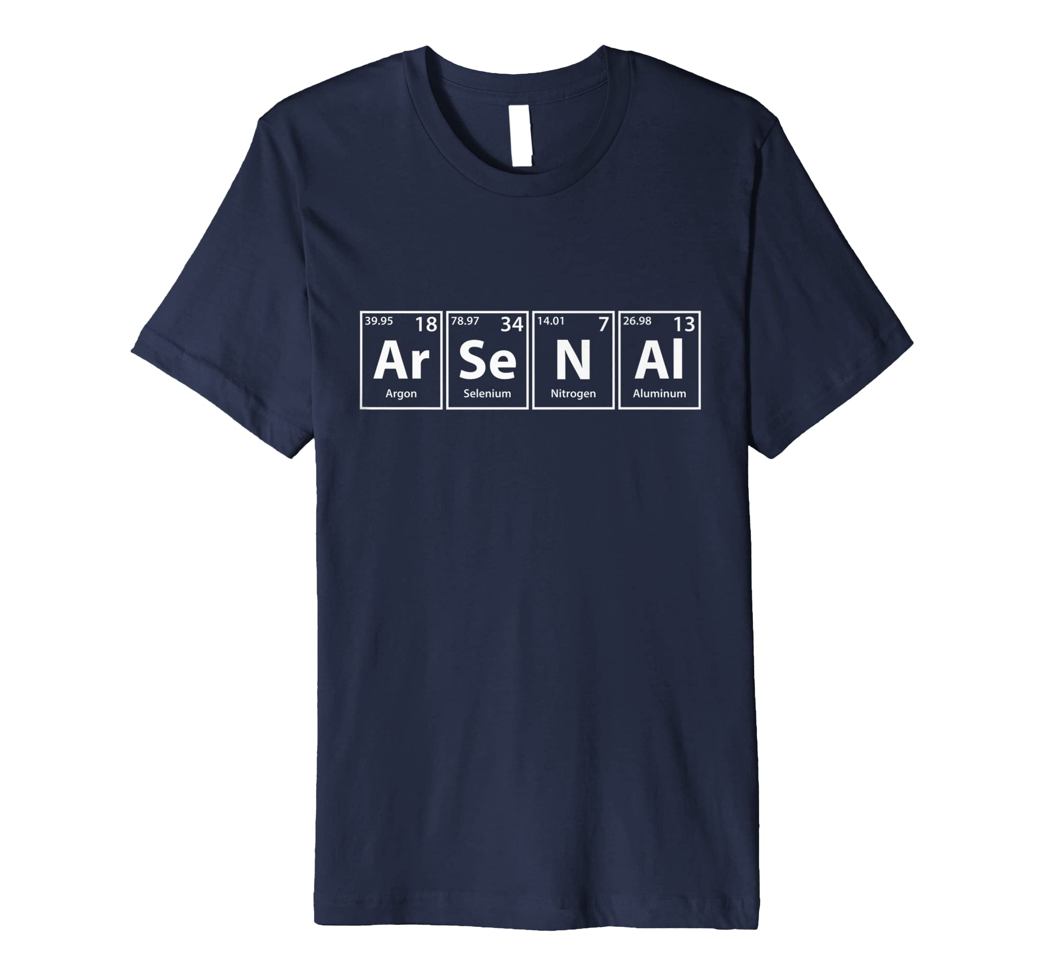 Ar Se N Al Periodic Table Elements Spelling T Shirt-azvn