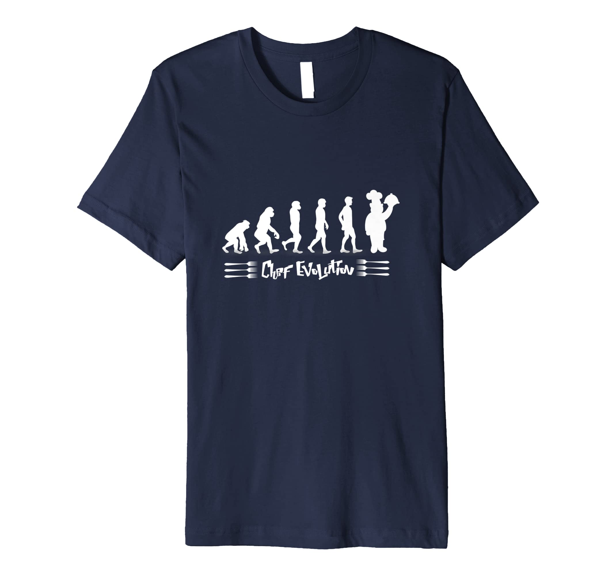 Culilnary Chef Evolution Funny Cooking T Shirt For Men women-azvn