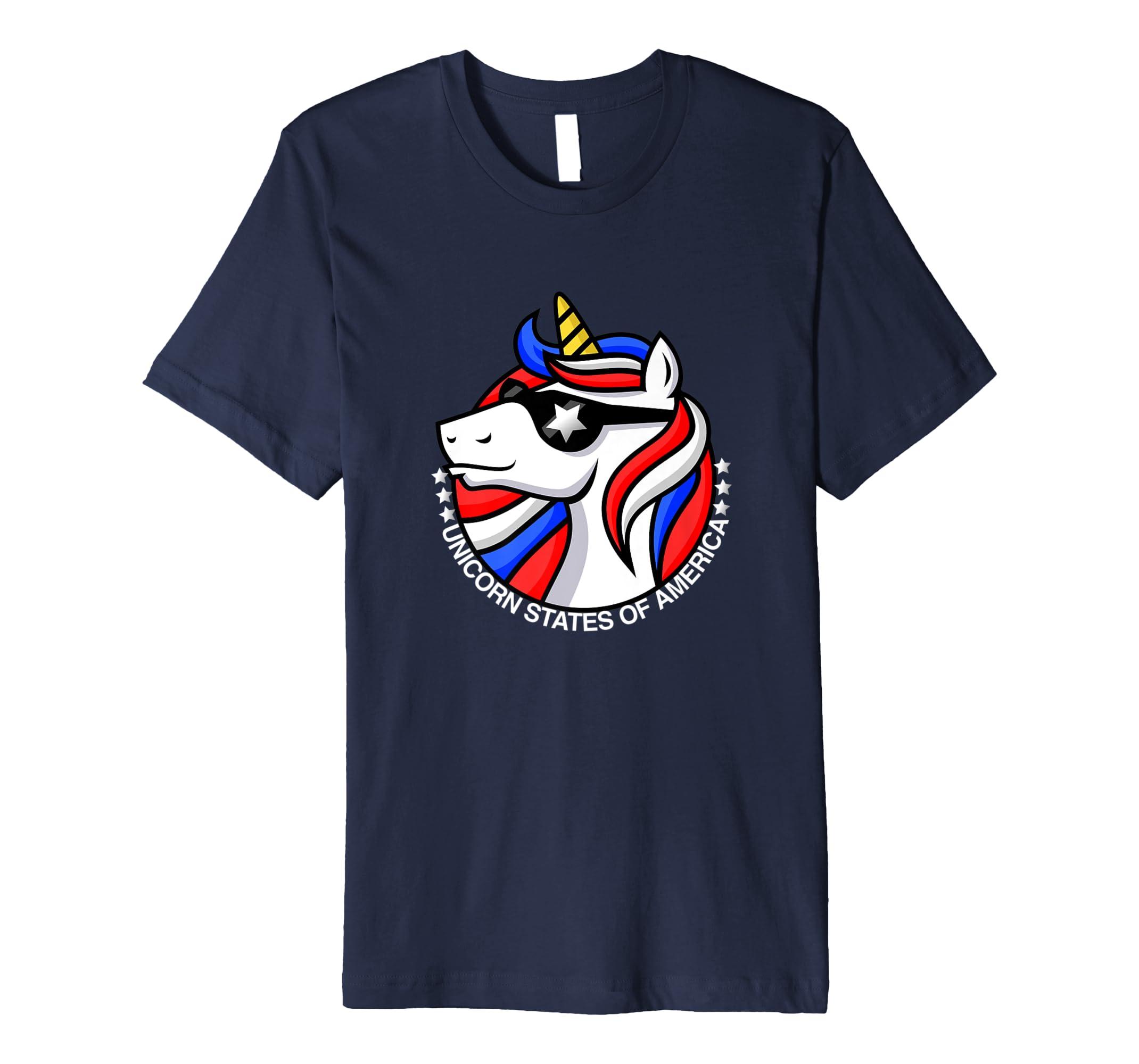 Americorn, Unicorn Fashion, Unicorn Shirt, Pony,-AZP