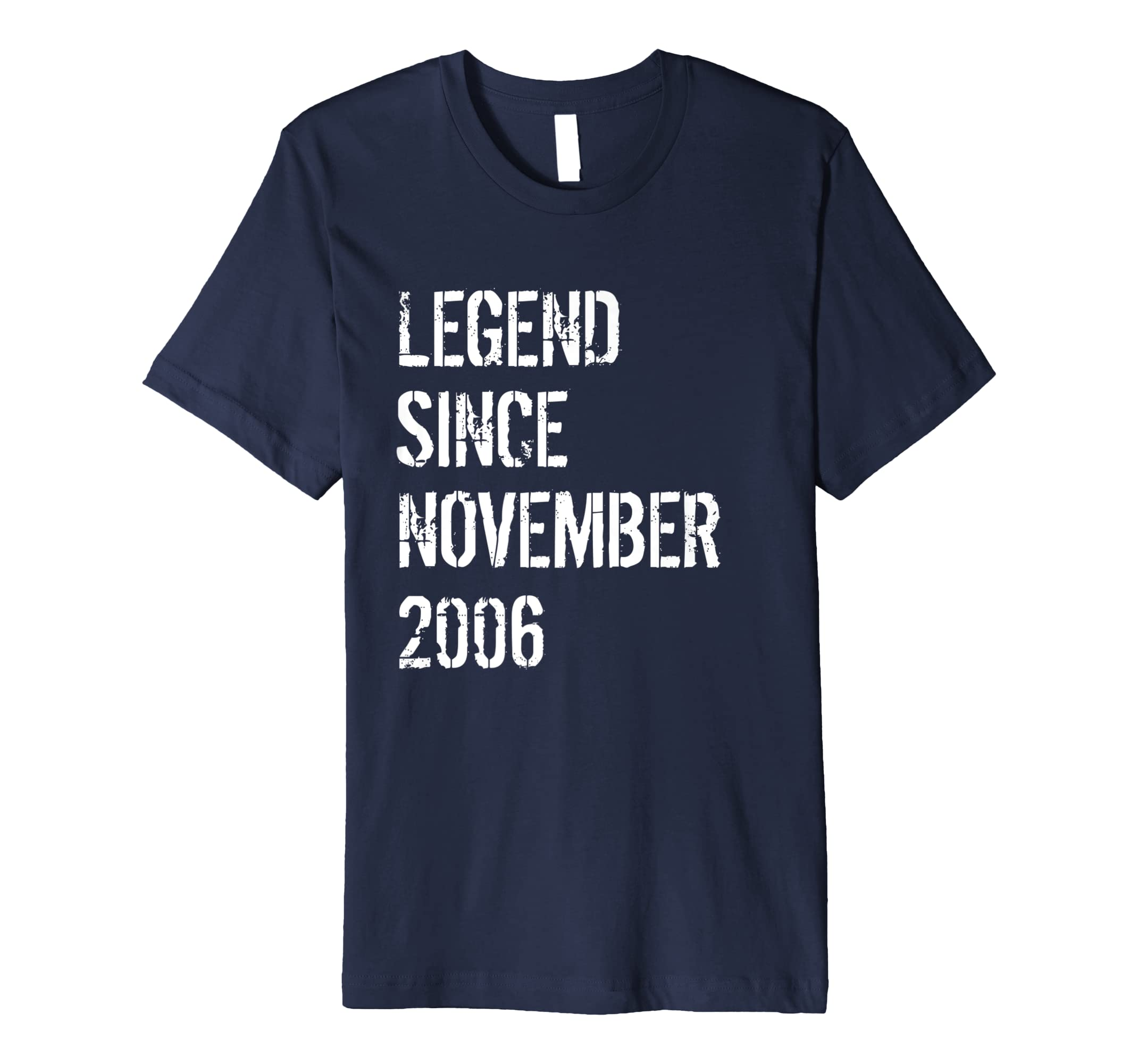 12th Birthday Gift Shirt Legend Since November 2006-azvn