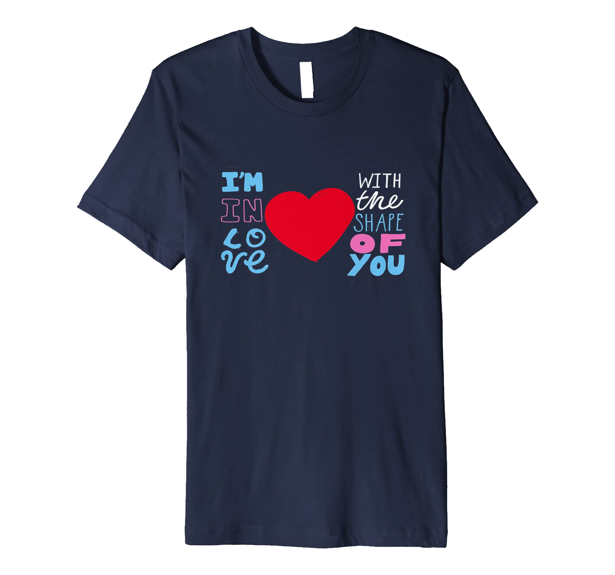 Shape Of You Music Song Fan Shirt T Shirt-azvn