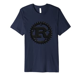 63952754229 Rust Programming Language 3D Logo T-Shirt: Amazon.co.uk: Clothing