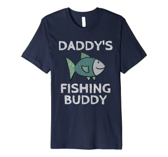 84f7c73b4111 Amazon.com  Premium Daddy s Fishing Buddy T-Shirt