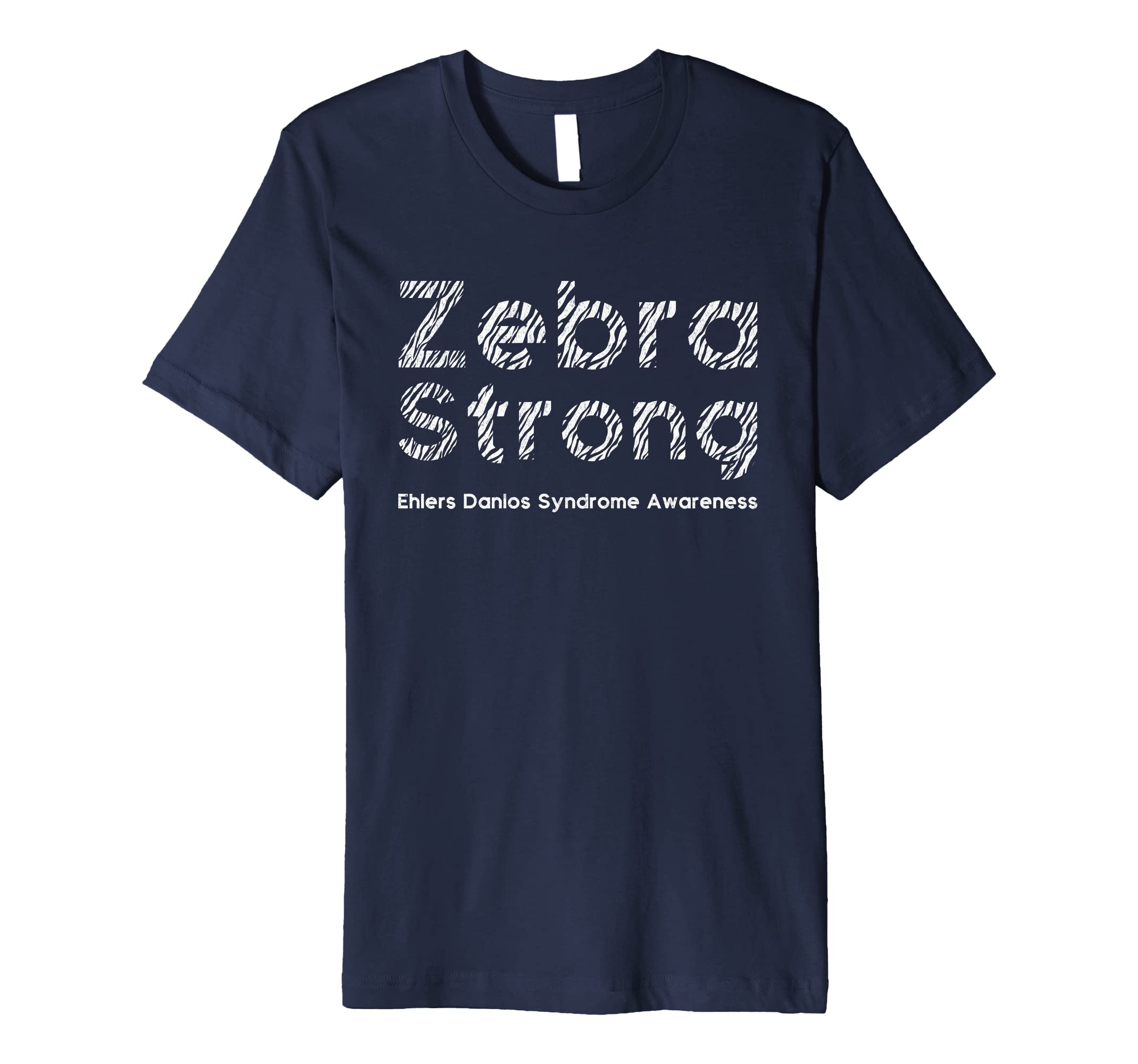 Zebra Strong - Ehlers Danlos Syndrome EDS Awareness Shirt-AZP
