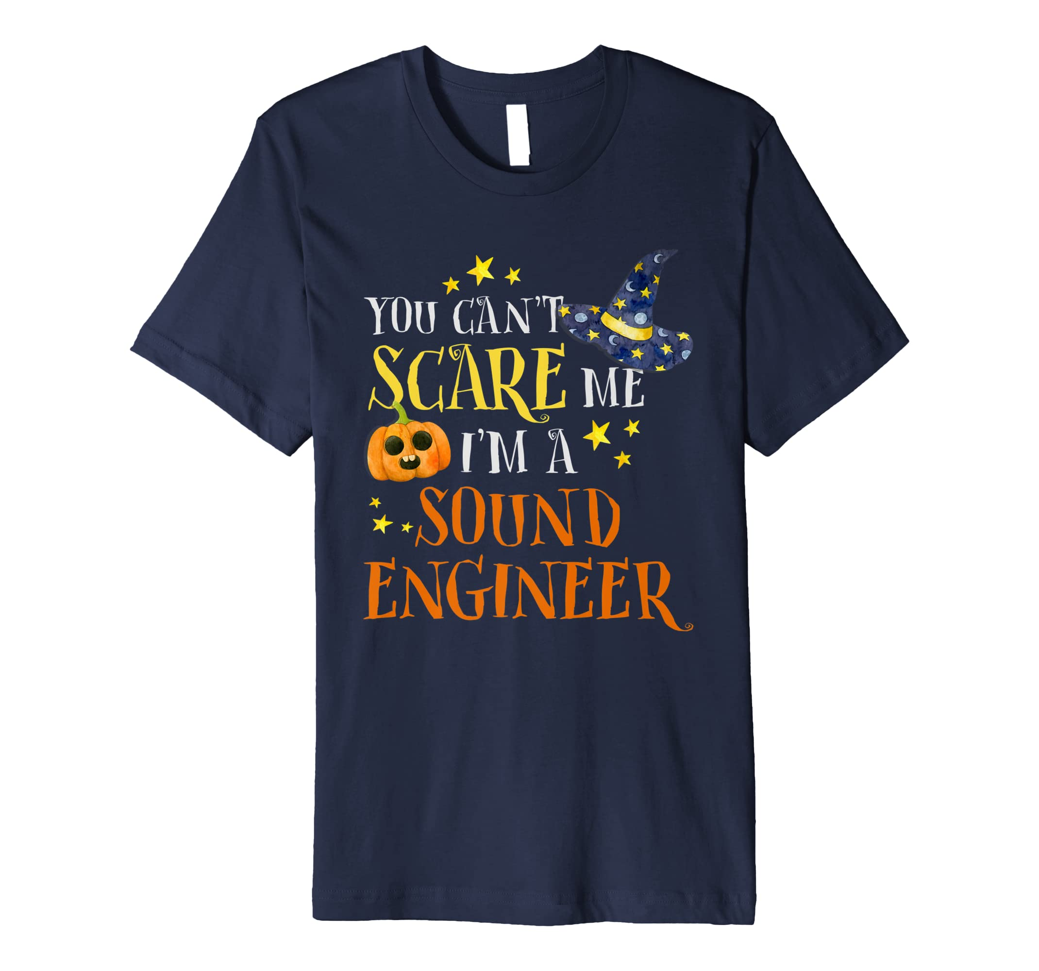 You Can't Scare Me Sound Engineer Halloween Costume Shirt-SFL