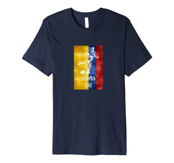 Image Unavailable. Image not available for. Color  Colombian Football 2018 T -Shirt Gift Colombia Soccer Jersey 449249319