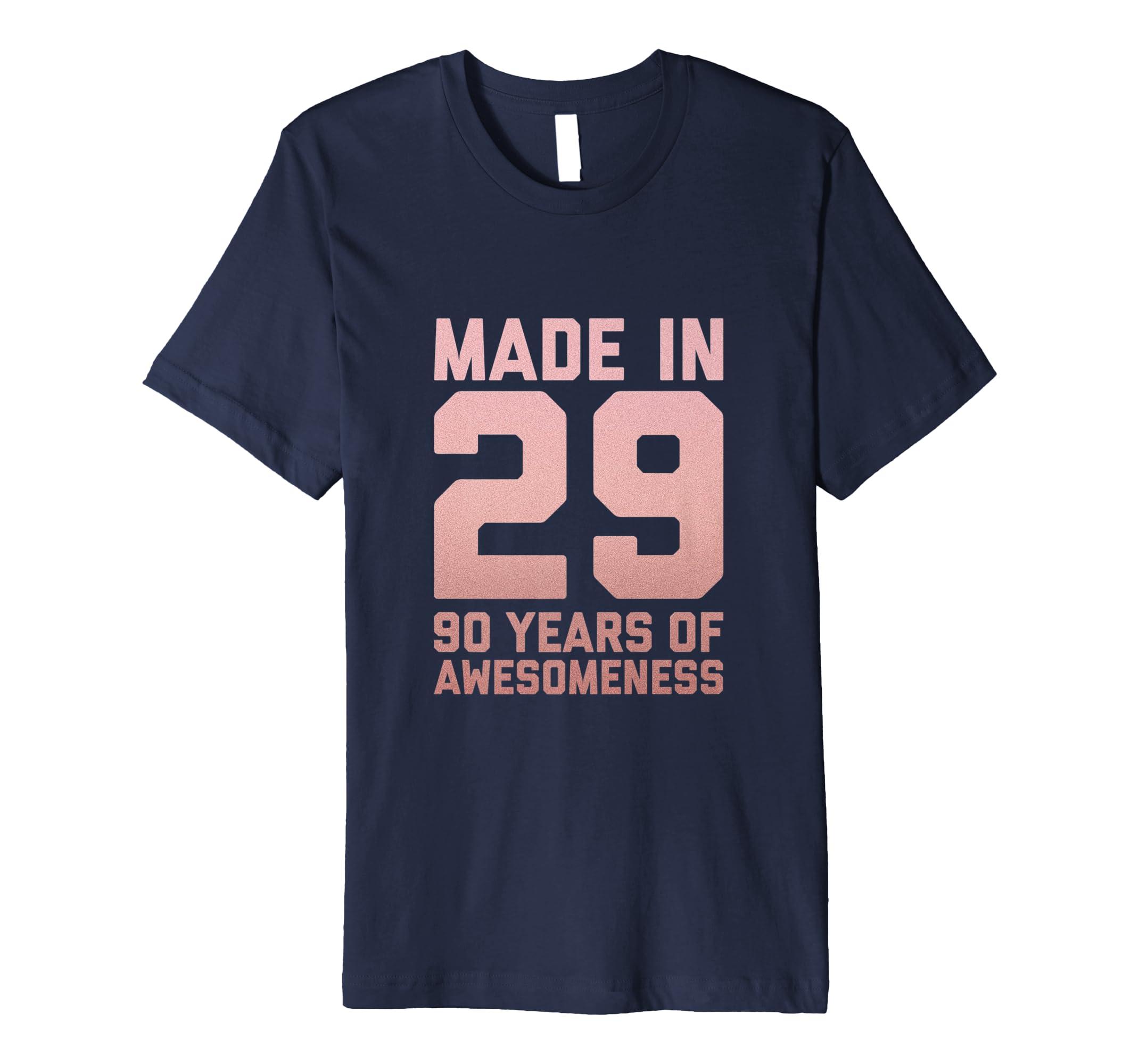 Amazon 90th Birthday Tshirt For Women Gifts 90 Year Old Grandma Mom Clothing
