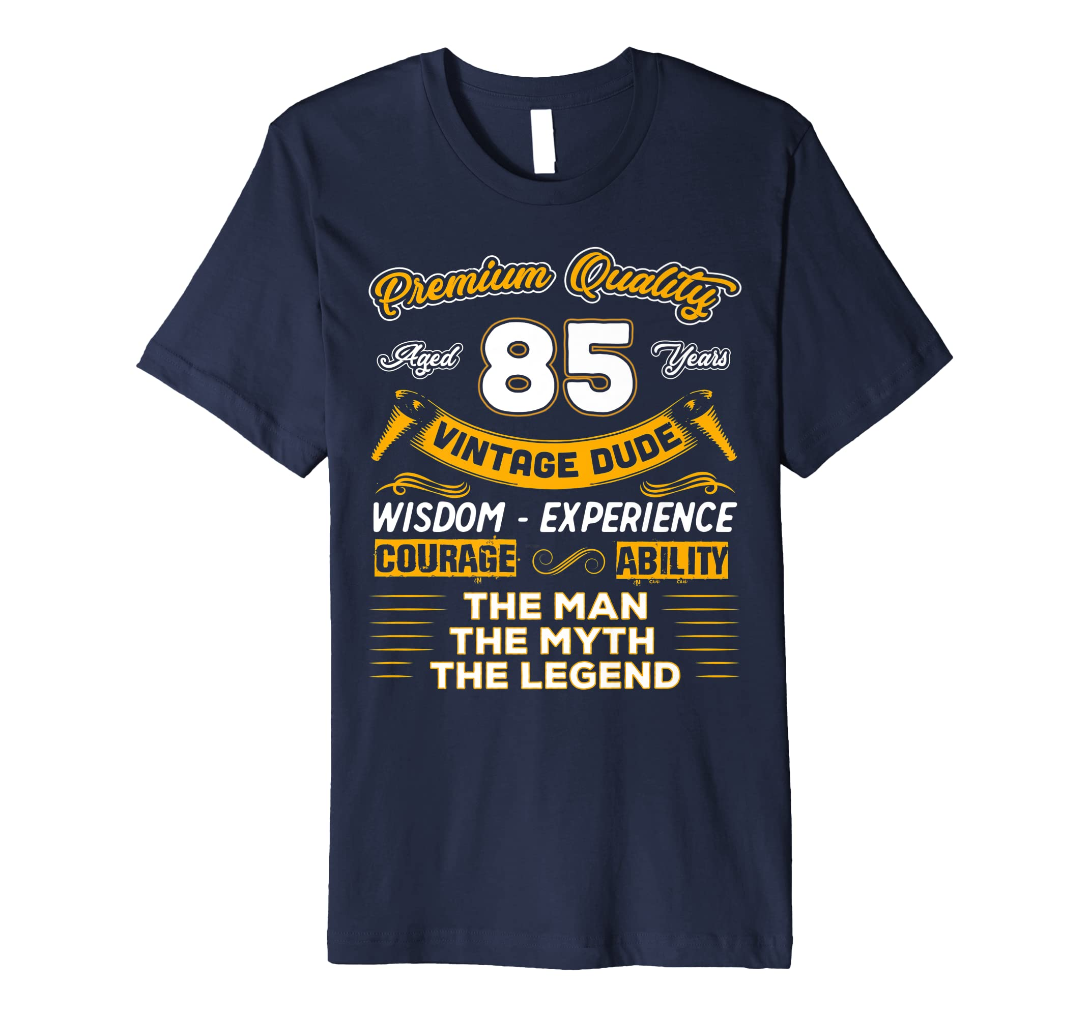 Amazon Gift For 85 Years Old Shirt 85th Vintage The Man Myth Legend Clothing