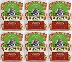 Almondina Almond Cookies, Almonduo, 4-Ounce Package (Pack of 6)