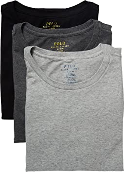 Polo Ralph Lauren - 3-Pack Slim Fit Crew (Multi-Color)