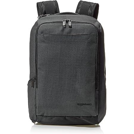Amazon Basics Slim Carry On Travel Backpack, Black - Overnight