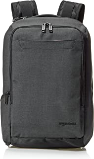 AmazonBasics Slim Carry On Backpack, Black