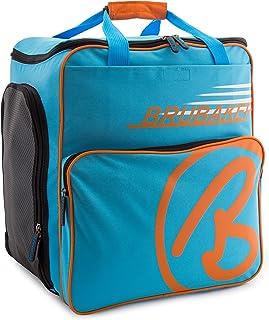 Brubaker 'Super Champion 2.0' Bolso para Deporte - Mochila Porta Botas De Esquí - Azul/Naranja
