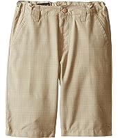O'Neill Kids - Delta Plaid Shorts (Little Kids)