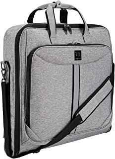 Suit Carry On Garment Bag for Travel and Business Trips – Fancy Design – with..