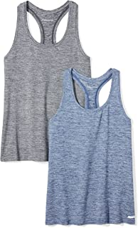Women's 2-Pack Tech Stretch Racerback Tank Top