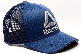 f10bcbfe693 Reebok Delta Logo Meshback Snapback Trucker Hat