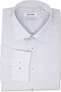 Calvin Klein Men's Slim Fit Print Shirt