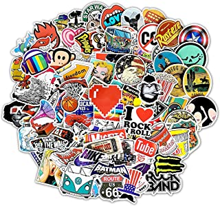 Style-B 100Pcs Random Sticker(50~1100 Pcs),Fast Shipped by Amazon. Vinyls Decals for Laptop,Cars,Motorcycle,Bicycle,Skateboard,Luggage.