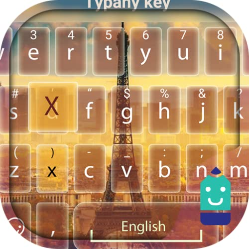 Dream Paris Theme&Emoji Keyboard