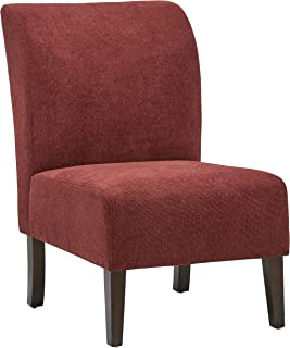 Amazon Brand – Stone & Beam Lummi Modern Armless Slipper Accent Chair, 21.6W, Chianti