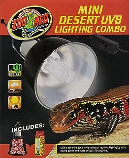 Zoo Med Mini Desert UVB Lighting Single Combo