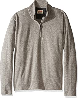 Wrangler Authentics Men's Sweater Fleece Quarter-Zip