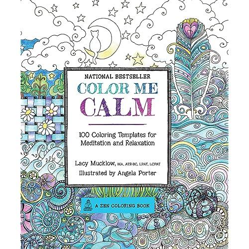 Zen Doodle Coloring Book: Amazon com