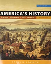 America's History: Concise Edition, Volume 1