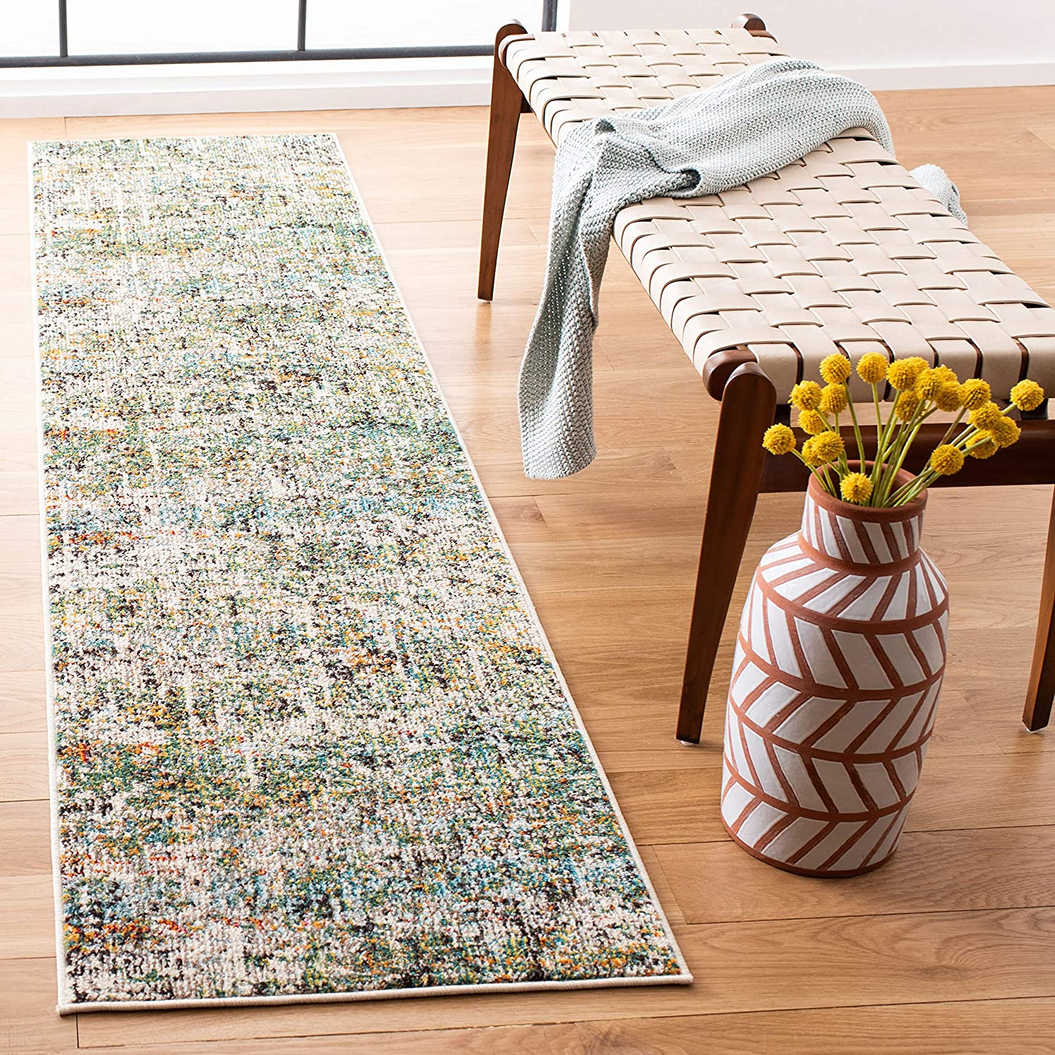 Safavieh Madison Tucson Mall Collection wholesale MAD460Y Abstract Non-Shedding Modern