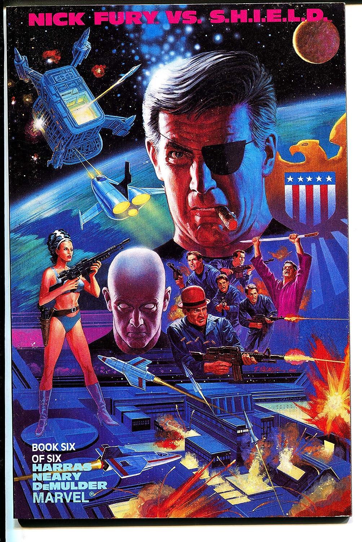 Fees free Virginia Beach Mall Nick Fury vs. S.H.I.E.L.D.-Book Harras-TPB-trade 6-Bob