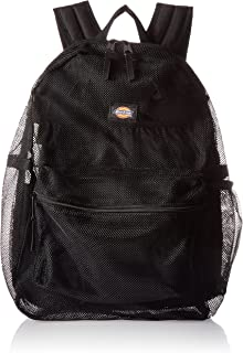 Mesh Backpack, Black, One Size