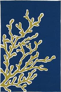 Kaleen Rugs Matira Collection MAT01-17 Blue Handmade 5'X7'6
