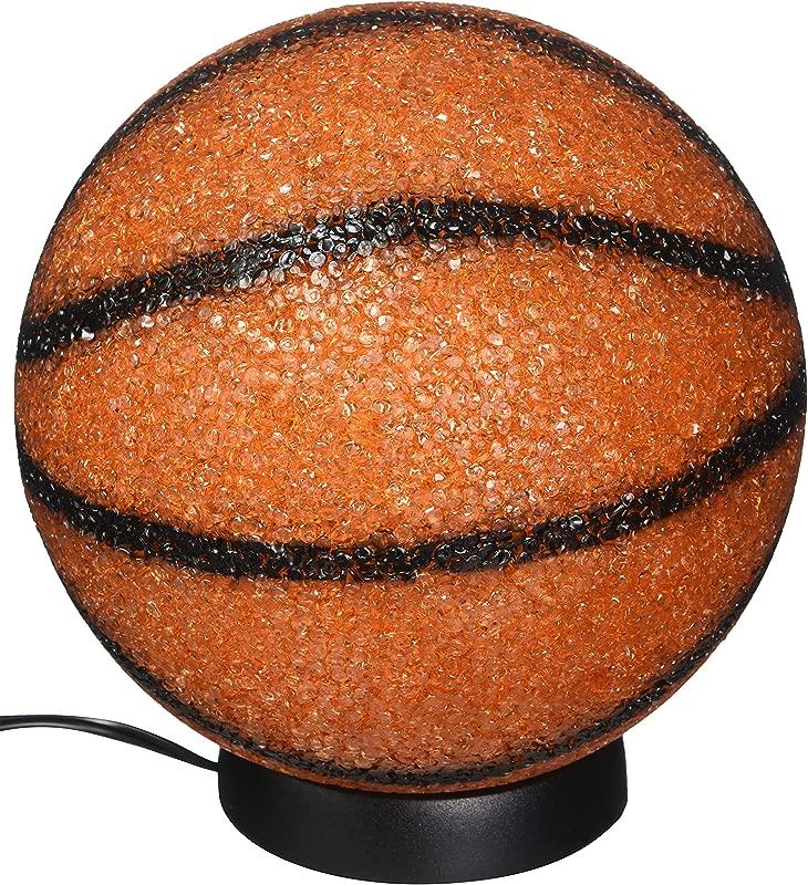Rhode Island Novelty ELBSKSP 9 Sparkle Basketball Lamp