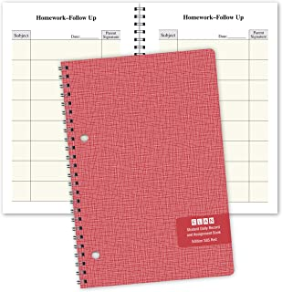 Student Planner Daily Format for Elementary School (S85-Red) 5.5 x 8.5